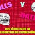 TROLLS y HATERS: el límite de la libertad de expresión