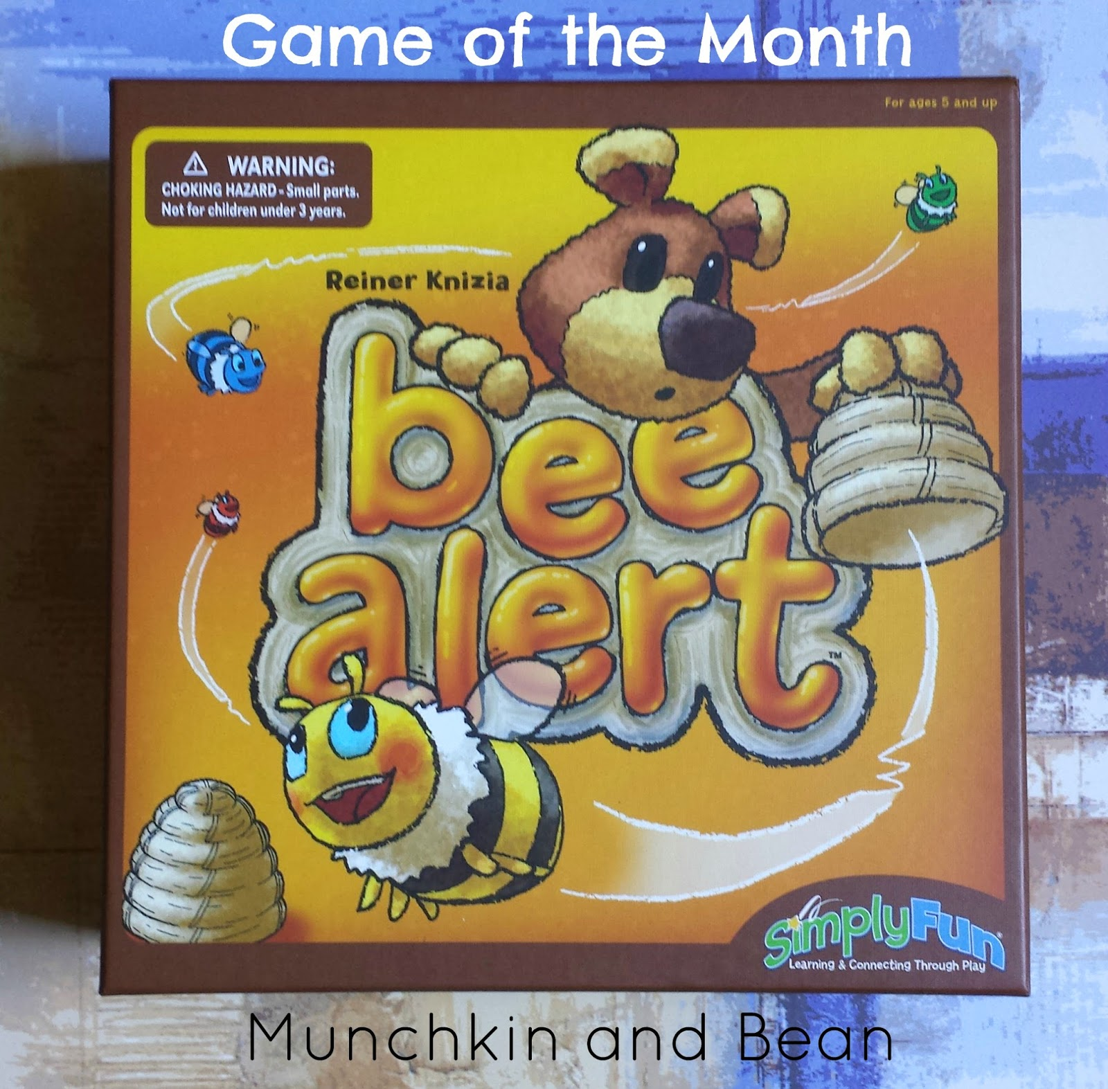 Munchkin and Bean: Game of the Month: Bee Alert