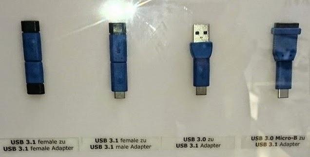 αντάπτορες USB 3.1