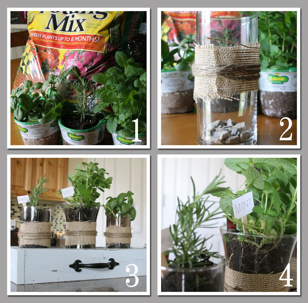 Mrs this and that indoor herb garden for Potting soil vs garden soil
