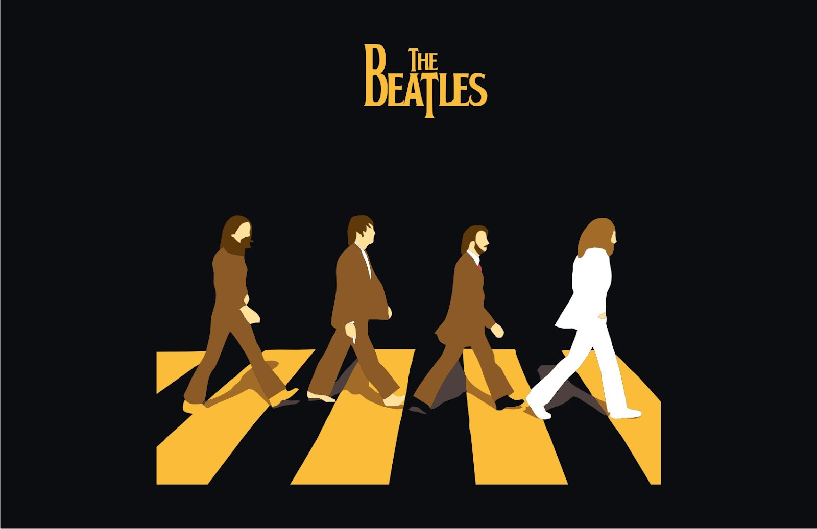 the_beatles-the-abbey_road_front_vector