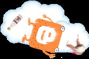 Логотип Блоггер
