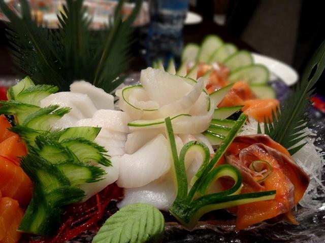 японский карвинг сашими