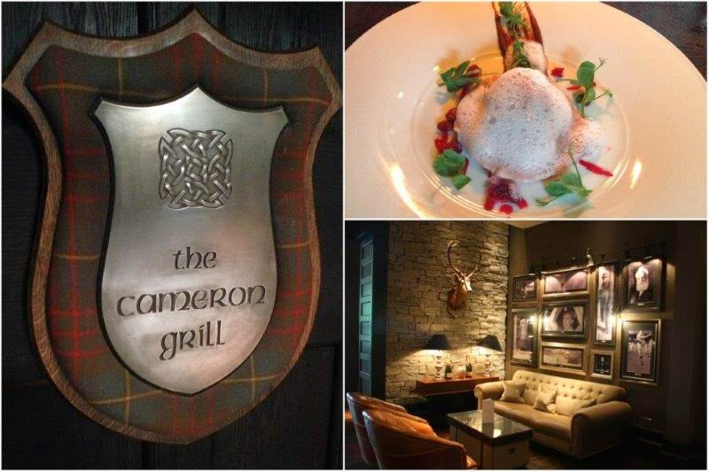 Cameron Grill en Cameron House en el lago Loch Lomond, Escocia – Great Scots Bar en Cameron House