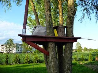 jak samemu zrobić domek na drzewie
