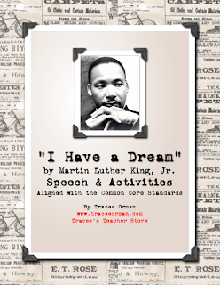 I Have a Dream Martin Luther King Day Activities