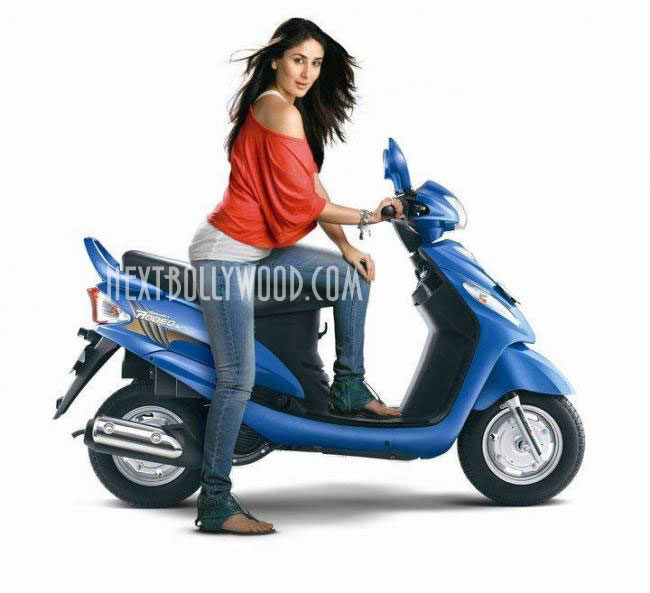 Kareena Kapoor - Kareena Kapoor's Hot Ad in Jeans 7 top for Mahindra Rodeo