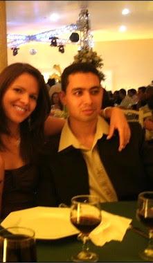 Eu e minha esposa Adriana