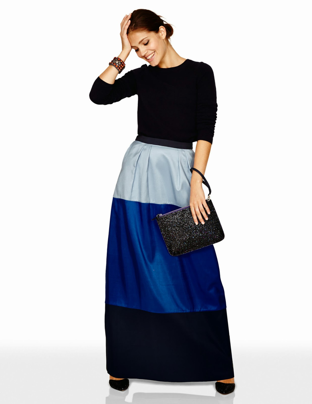Bold colorful maxi skirt | Follow Mode-sty for stylish modest clothing #nolayering tznius orthodox jewish muslim hijab mormon lds pentecostal islamic evangelical christian