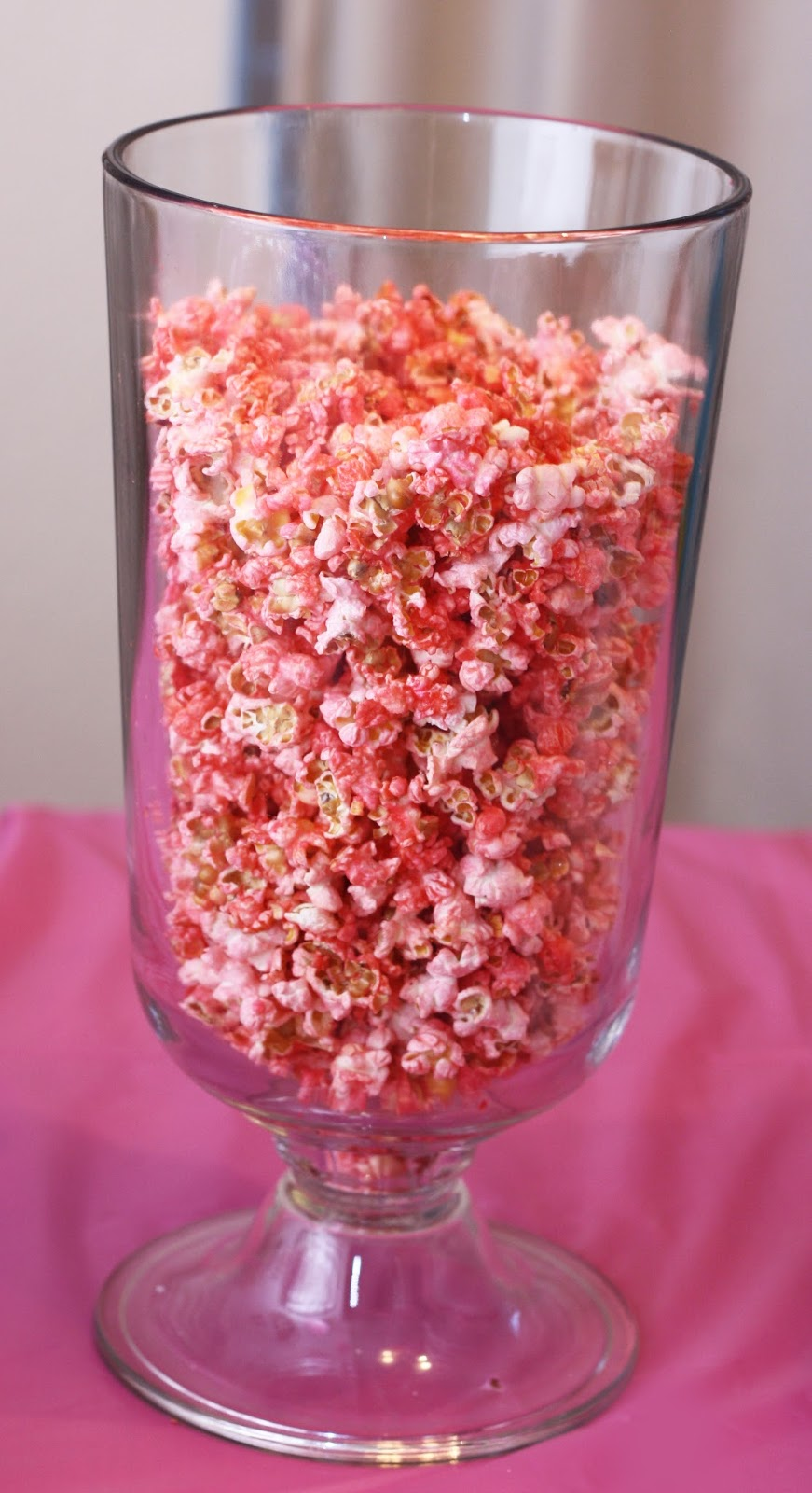 Crafty Allie Its Not A Party Without Pink Popcorn And Punch