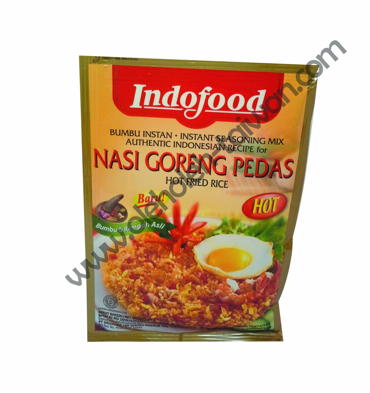 Indofood Nasi Goreng Pedas Indofood Bumbu Nasi Goreng