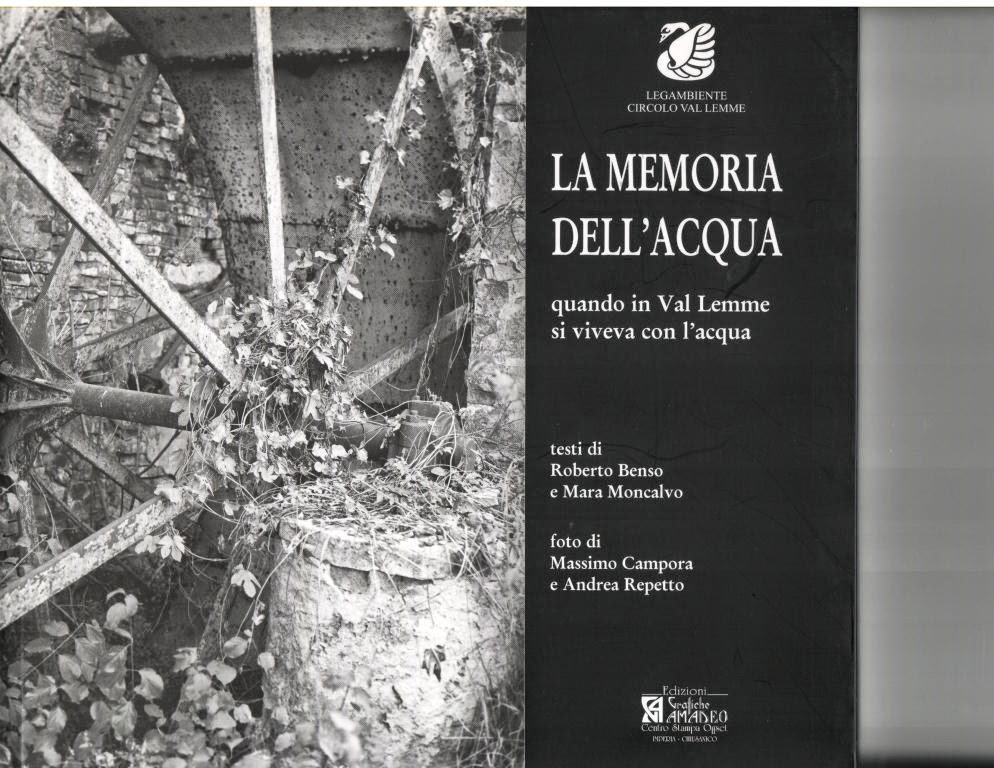 IDEA REGALO:LA MEMORIA DELL'ACQUA