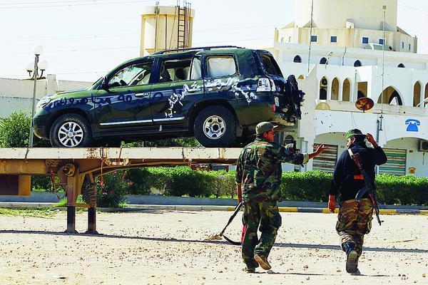 mobil konvoi khadafi