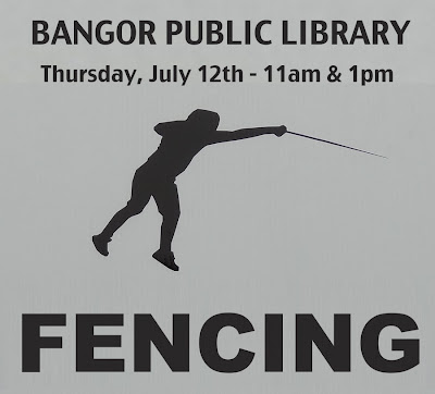 Bangor Public Library,Fencing,Demonstration,Maine