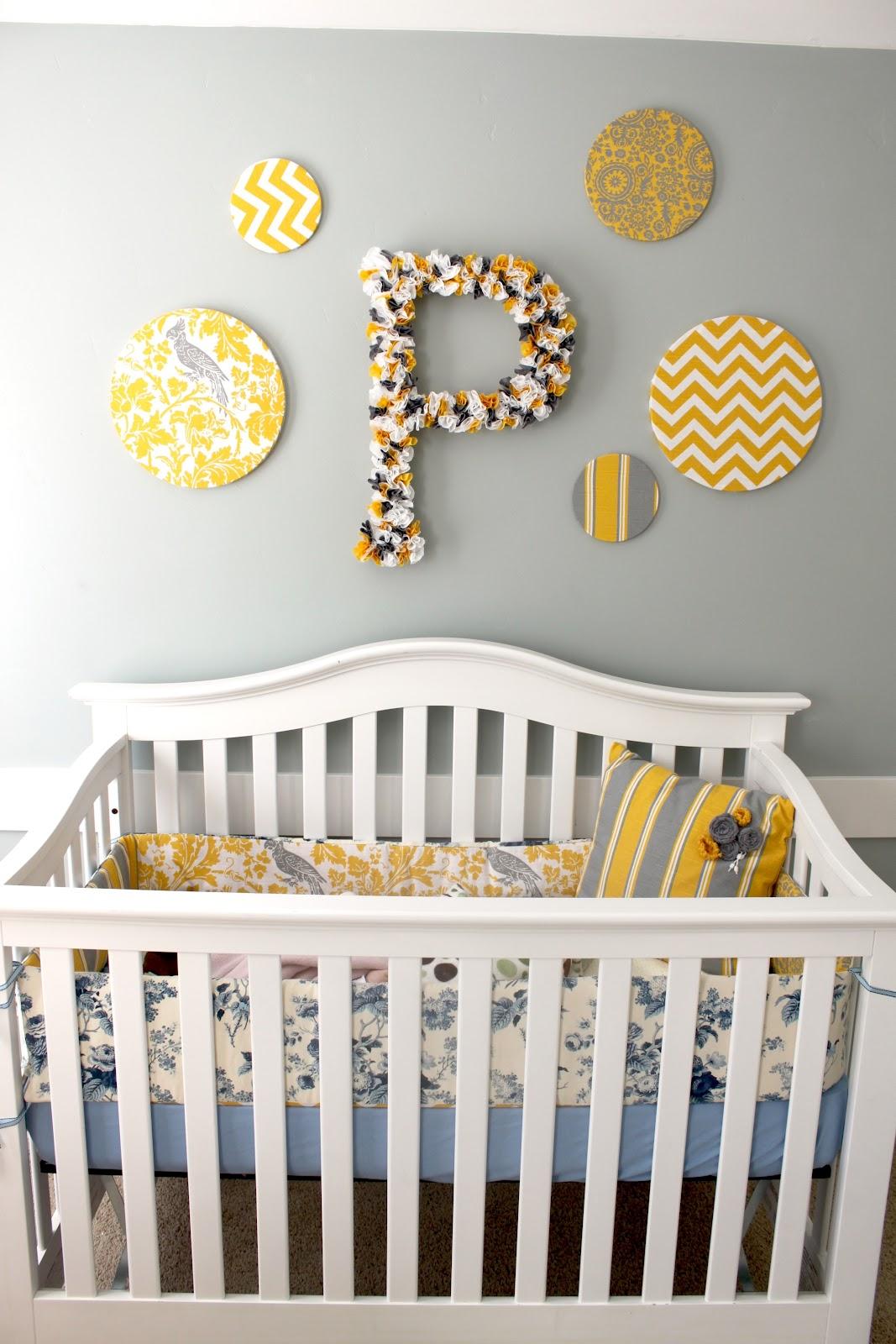 Our Yellow Gray Nursery Fun Cheap Or Free