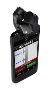 Mikrofon Røde i-XY ze złączem lightning na iPhonie. Zdjęcie producenta.