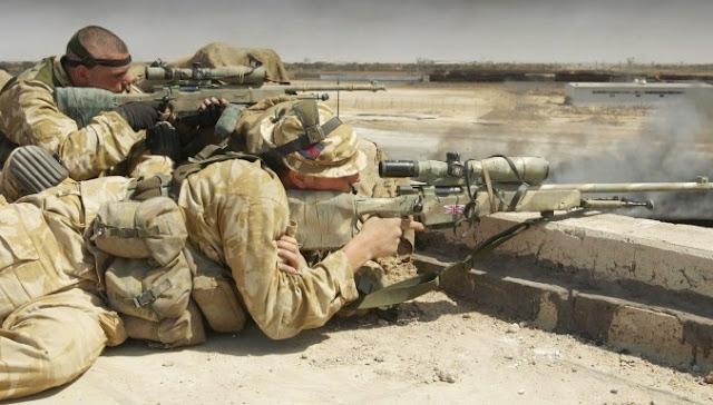 Atirador de elite mata membros ISIS a 1 quilômetro de distância