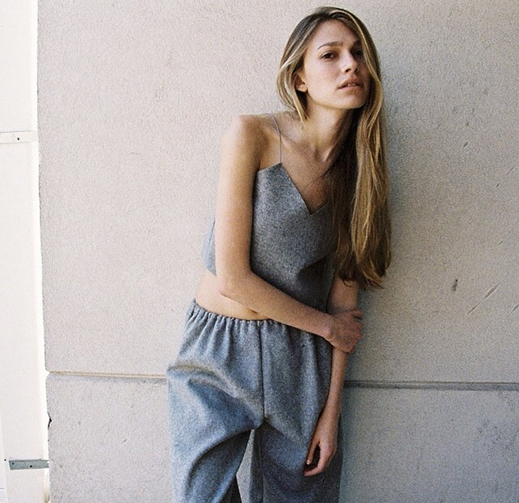 Grey monochromatic look, minimalism, simplicity, style