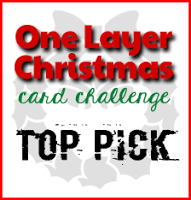 One Layer Christmas Card Top Pick