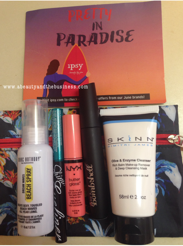 ipsy bag, ipsy summer, ipsy, ipsy bag june, ipsy bag june 2014,