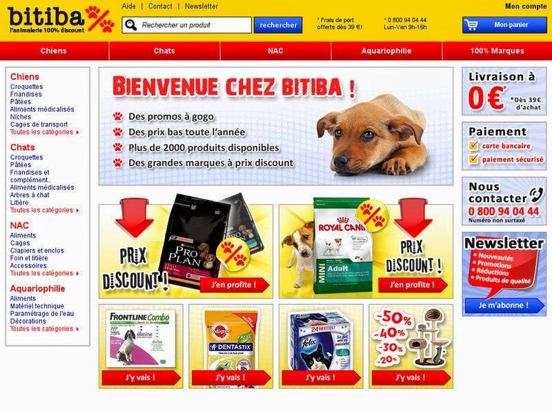 e-commerce Bitiba cani gatti pets pet cucce