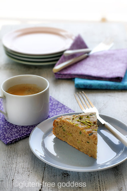 A Slice of Karina's Gluten-Free Zucchini Quinoa Breakfast Cake