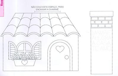 Moldes De Casas Para Confec    O De Maquetes Ou Lembrancinhas