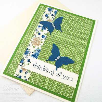 Stampin' Up! Thinking of You Card