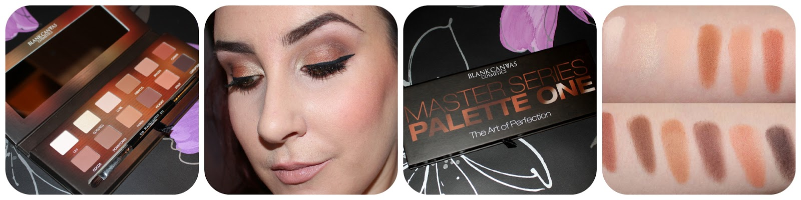 Master Series Palette One by Blank Canvas Cosmetics