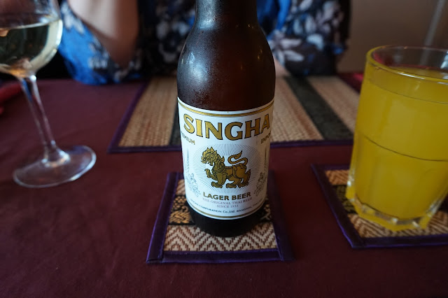 Singha Beer at the Thai Hut Felixstowe | Victoria Alice Blogs