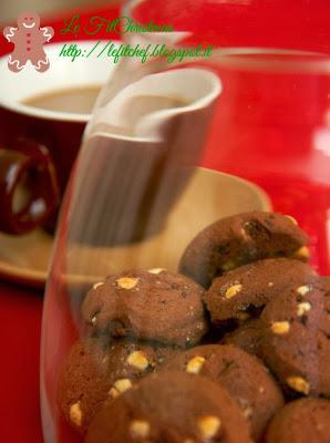 biscotti proteici al cacao e burro di nocciole senza glutine
