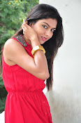 Akshitha New Stills at Mounam Movie Launch-thumbnail-4