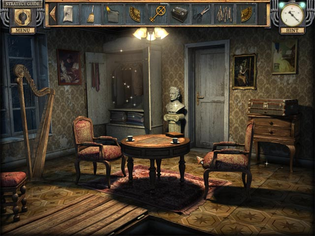 Silent Nights: The Pianist Collector's Edition. Screenshot of the harp.