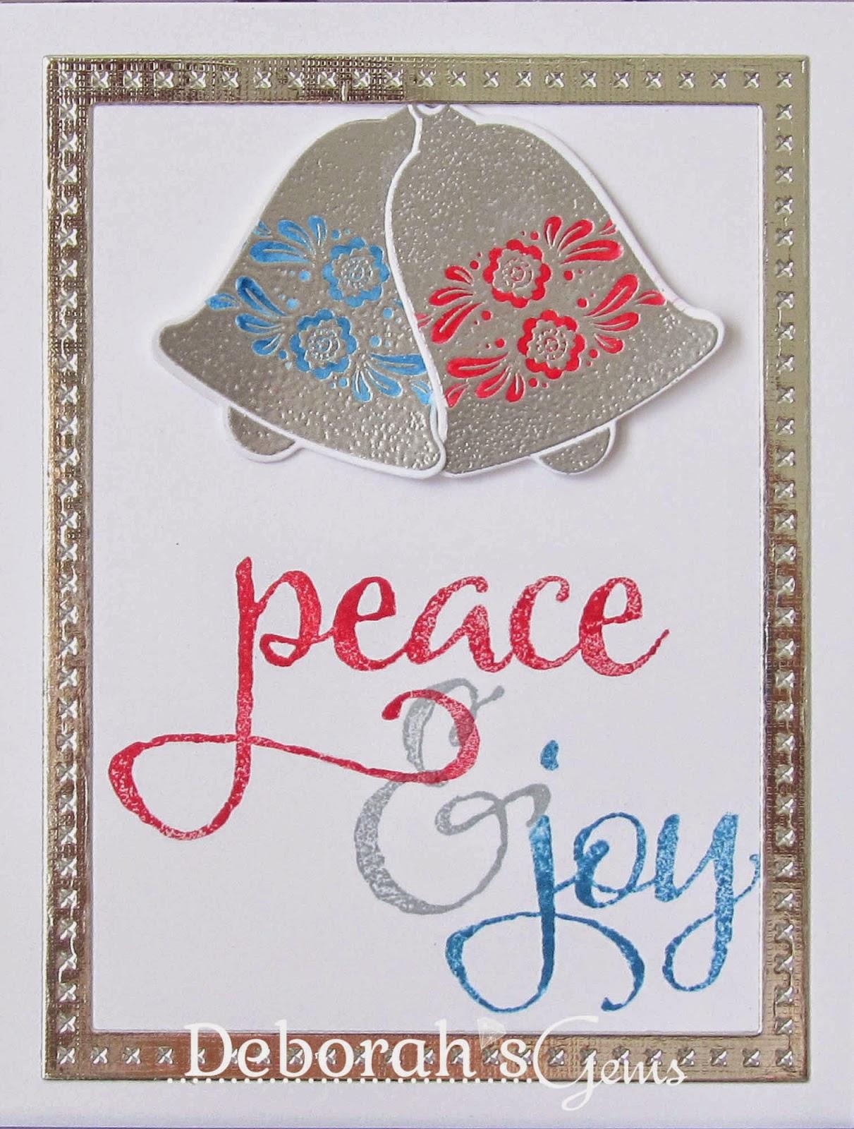 Peace & Joy - photo by Deborah Frings - Deborah's Gems