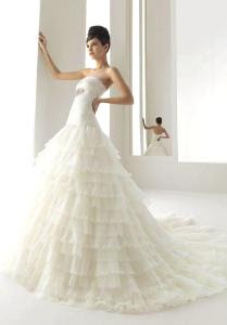 2011 barcelona aire wedding dress