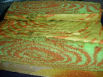 KEK MARBLE (pandan/coklat)