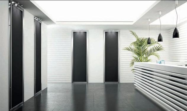 Corsi di interior design come dilatare un ambiente usando - Porte scorrevoli tutta altezza ...