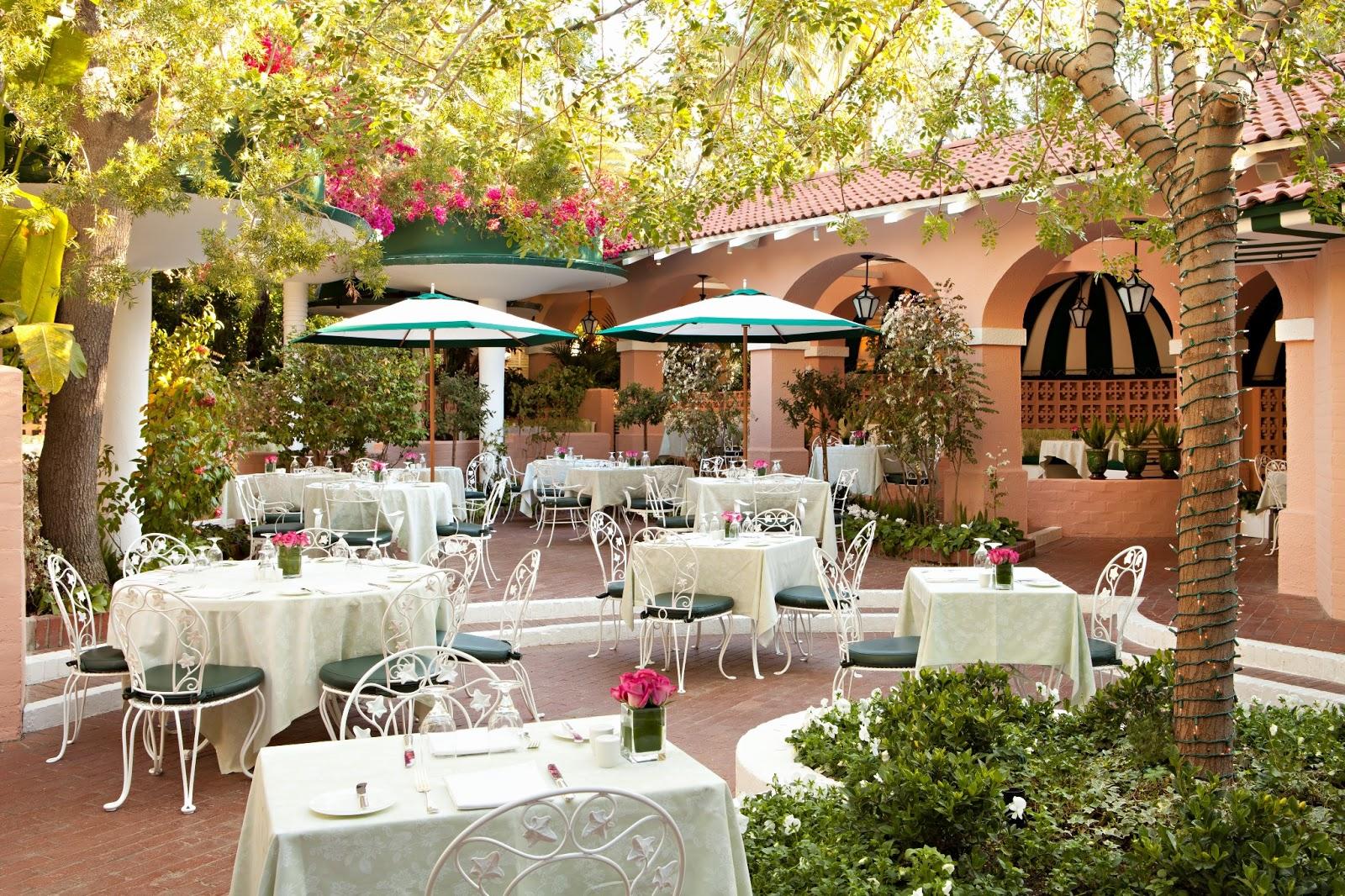 the beverly hills hotel pink green poolside renovations. Black Bedroom Furniture Sets. Home Design Ideas