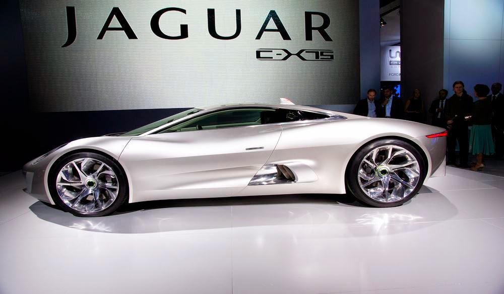Jaguar CX-75 HD Araba Resimleri