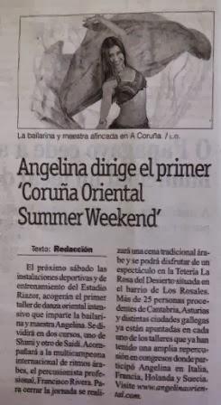 Prensa: Angelina en La Opinión