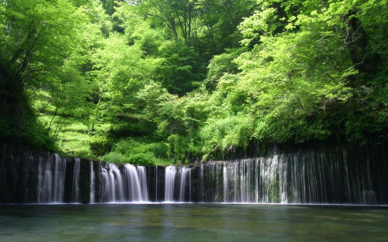 daniel sierra beautiful nature waterfall wallpapers for free