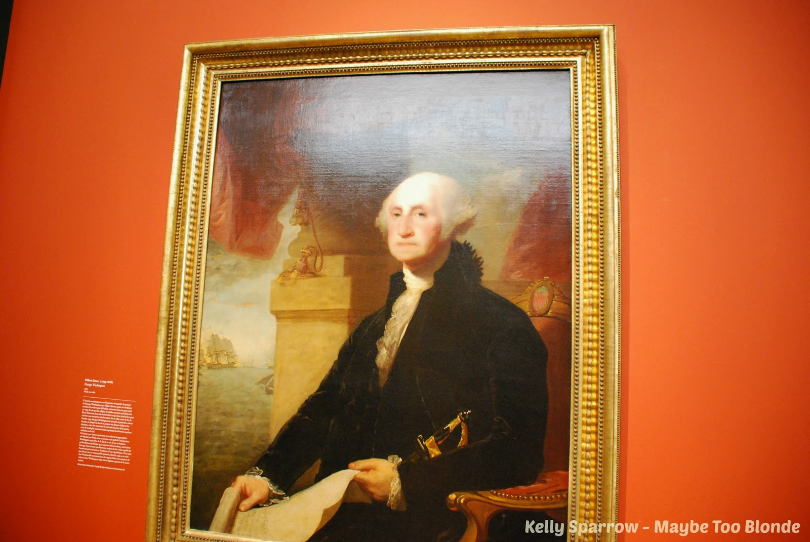 George Washington, Louvre