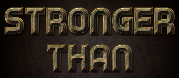 Photoshop 3D Shining Text Effect