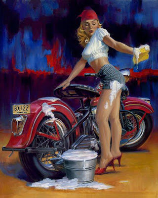 David Uhl pin up girl