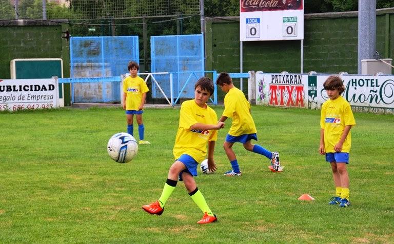 El V Campus de Fútbol Petronor-Muskiz