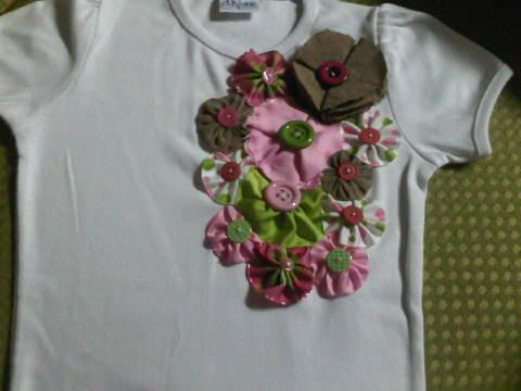 Guizarilla Collection. 1: Tshirts decorados para ninas..