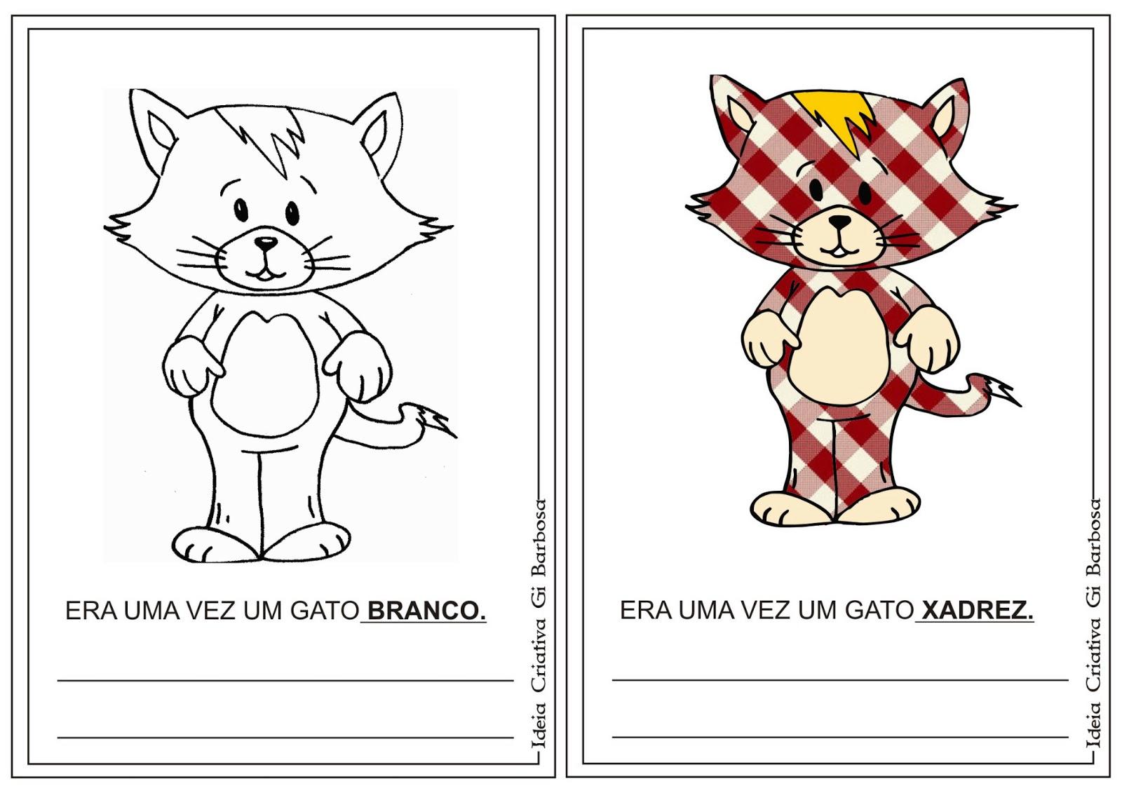 Rossana: Montar o livro Era uma vez um gato xadrez Bia Villela #CAA601 1600 1131