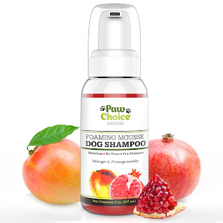Dry Dog Shampoo, Waterless, No Rinse Foam Mousse