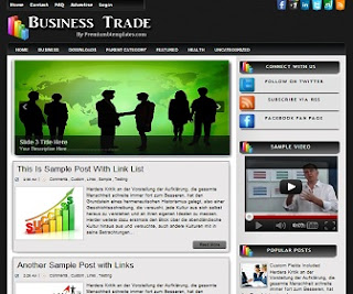 forex-business-blogger-template