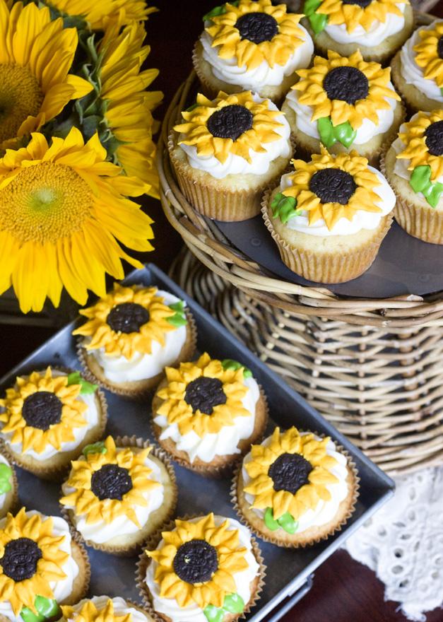 Erica S Sweet Tooth 187 Lemon Sunflower Cupcakes